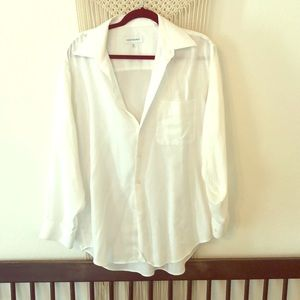 Yves Saint Laurent White button up